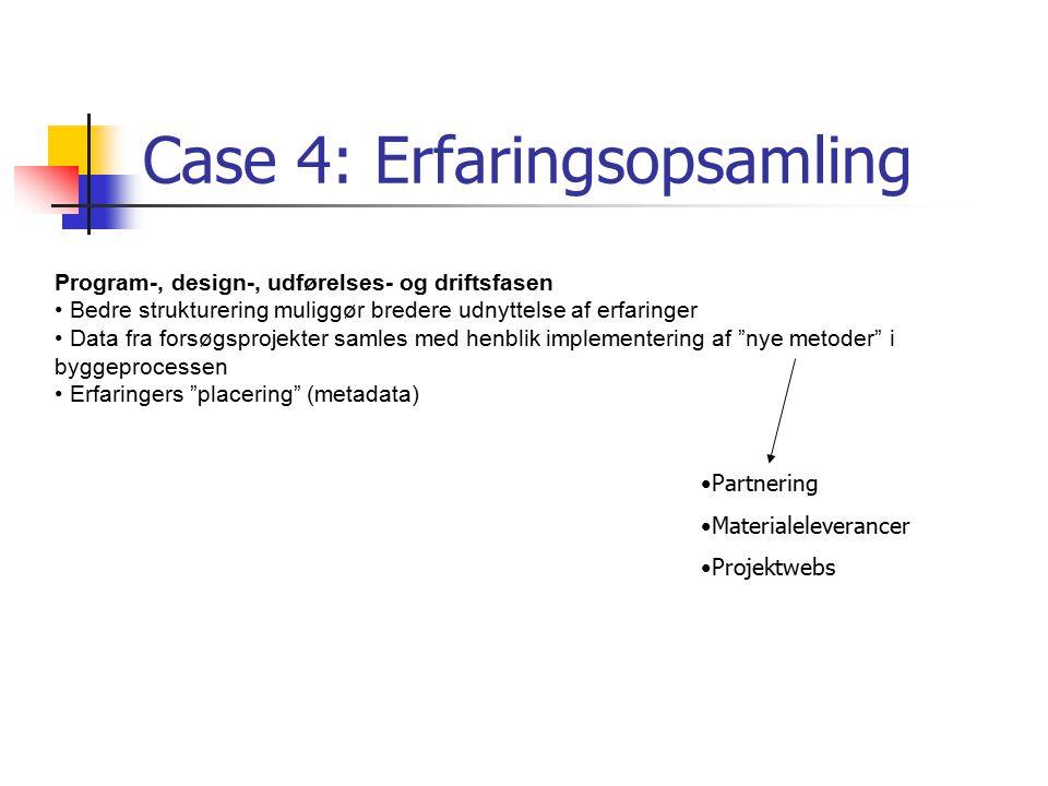 Case 4: Erfaringsopsamling