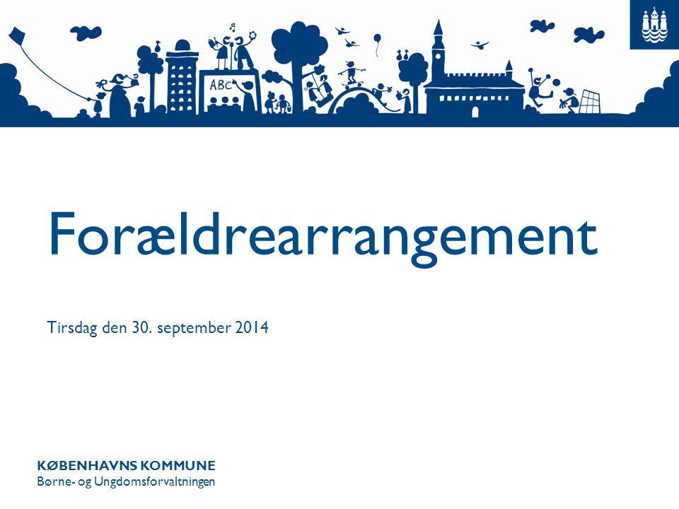 Forældrearrangement Tirsdag den 30. september 2014