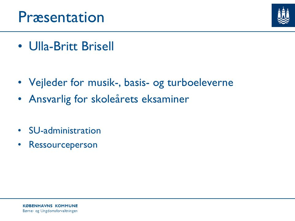 Præsentation Ulla-Britt Brisell