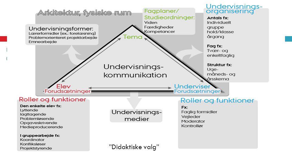 It-anvendelser i undervisningen - optikker, udfordringer, indsatsområder, forandringsprocesser