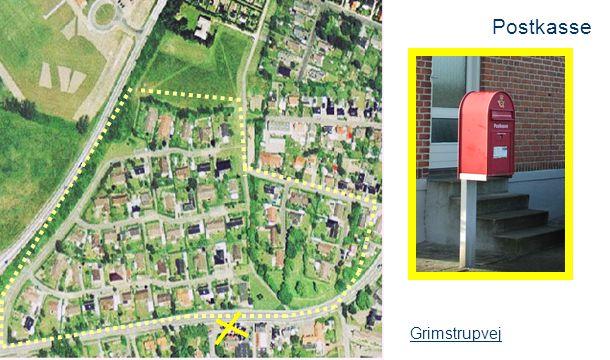 Postkasse Grimstrupvej