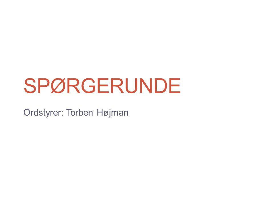 Ordstyrer: Torben Højman