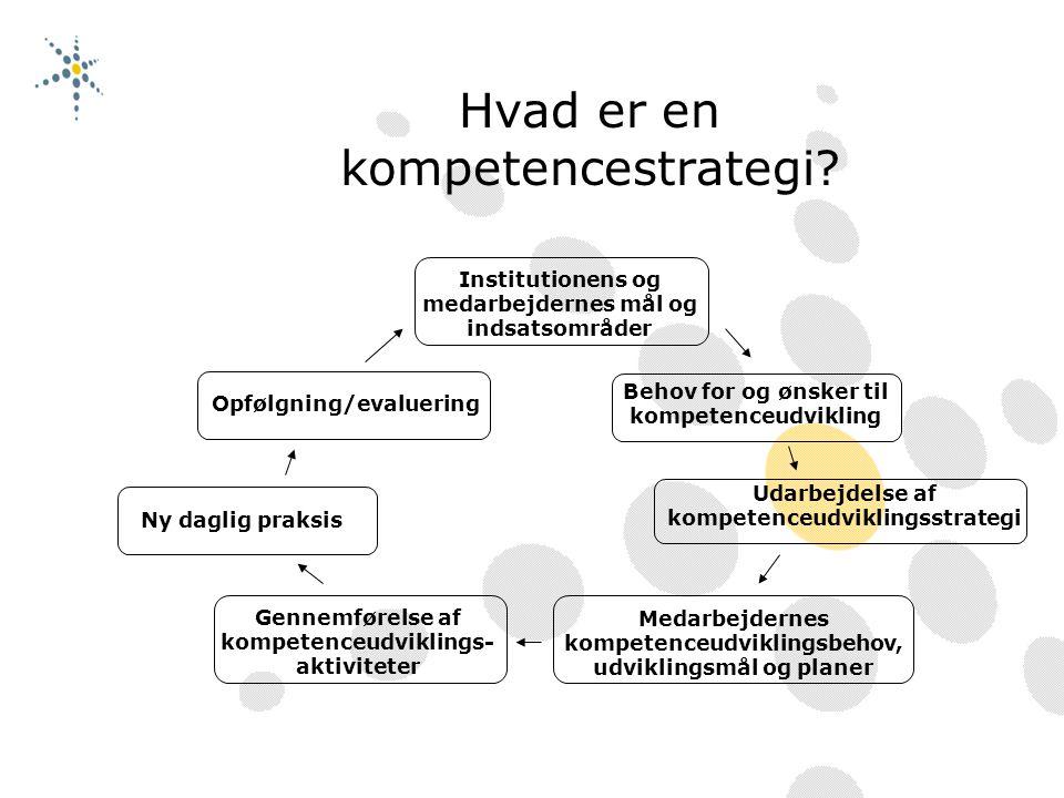 Hvad er en kompetencestrategi