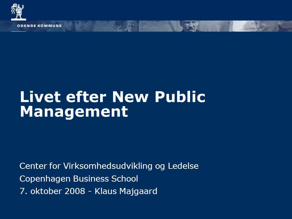 Livet efter New Public Management