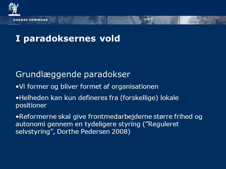 I paradoksernes vold Grundlæggende paradokser
