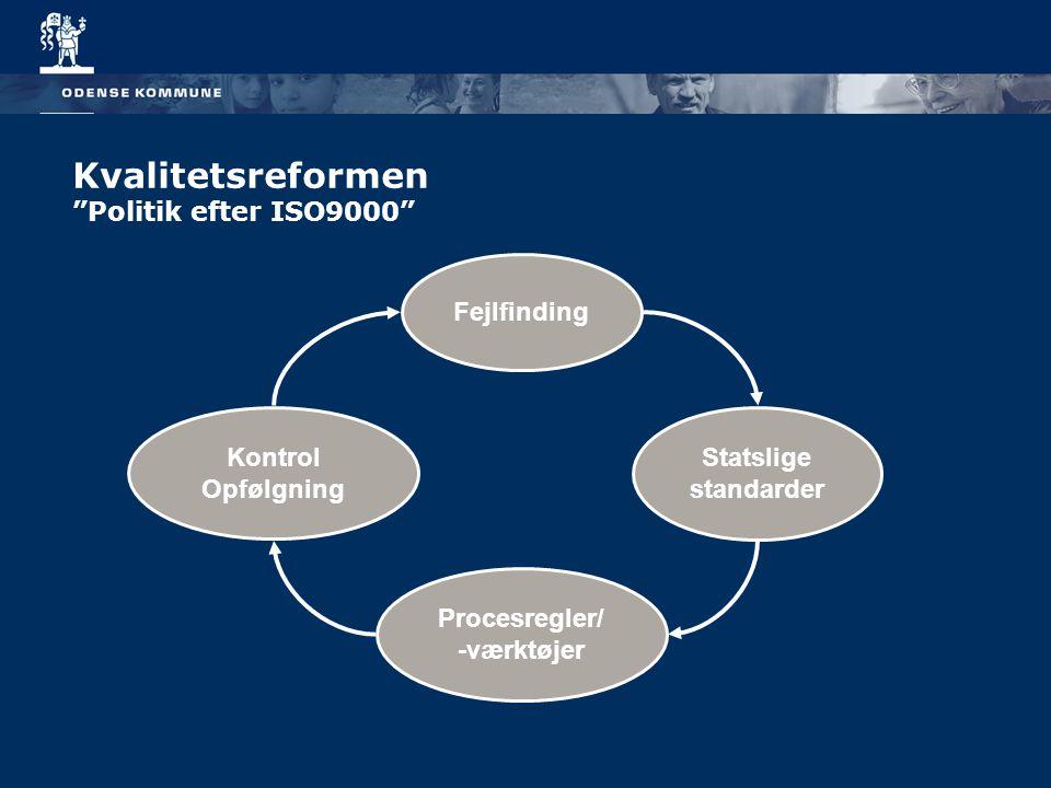 Kvalitetsreformen Politik efter ISO9000