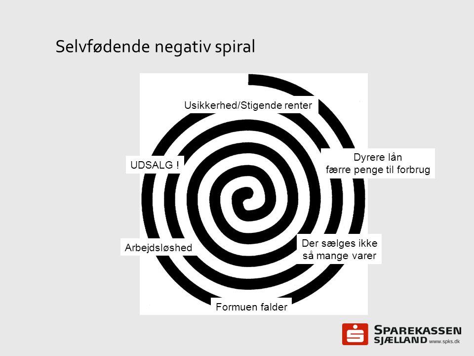 Selvfødende negativ spiral