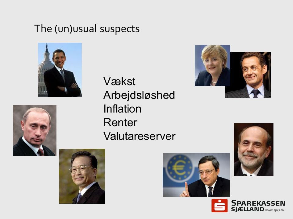 The (un)usual suspects