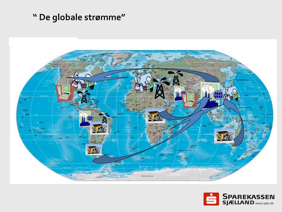 De globale strømme