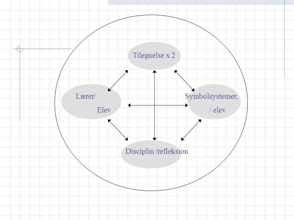 Lærer/ Symbolsystemer, . Elev / elev