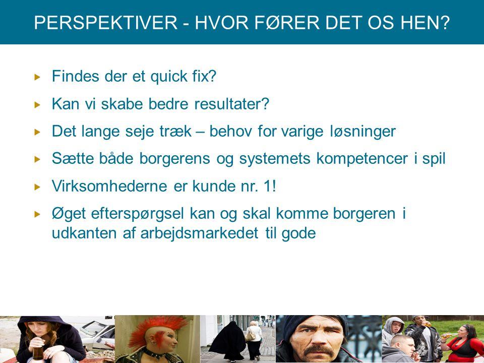 PERSPEKTIVER - HVOR FØRER DET OS HEN