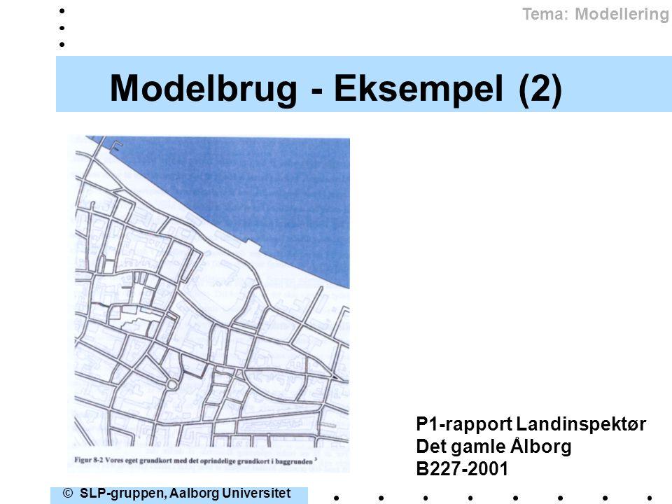 Modelbrug - Eksempel (2)