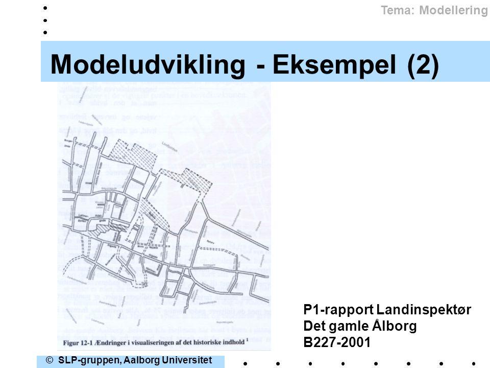 Modeludvikling - Eksempel (2)
