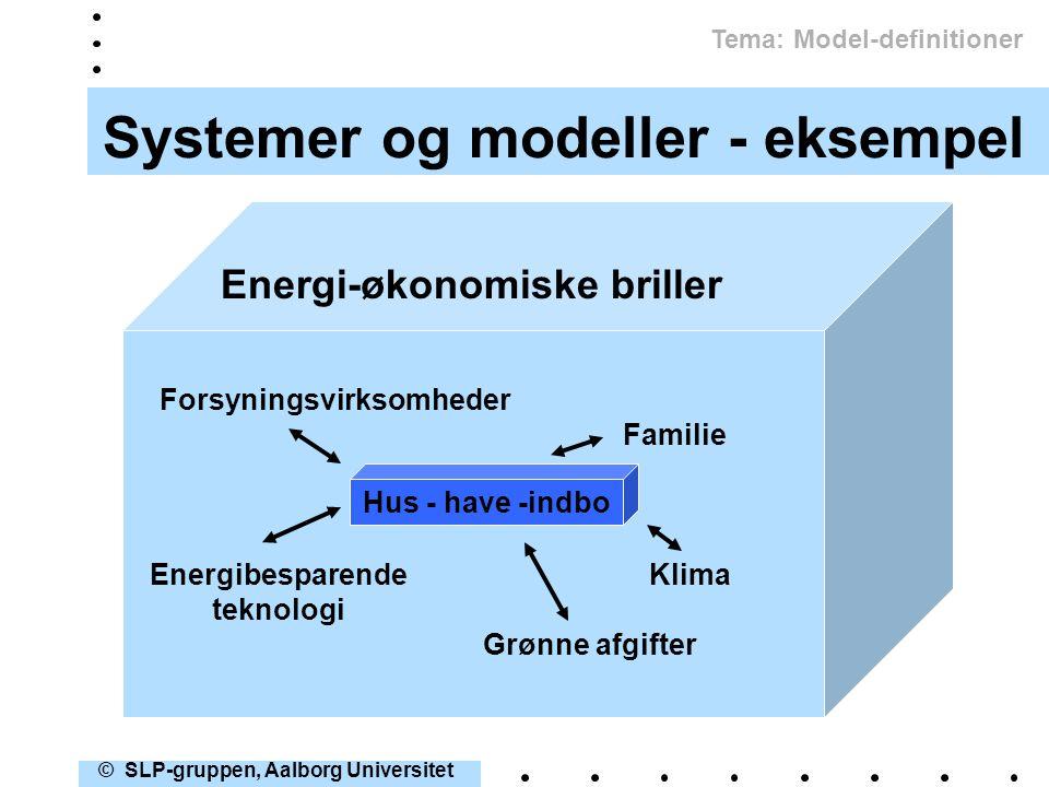 Systemer og modeller - eksempel