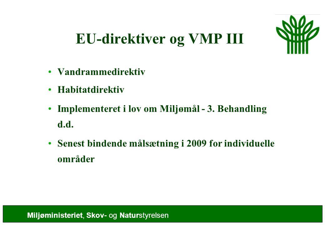 EU-direktiver og VMP III