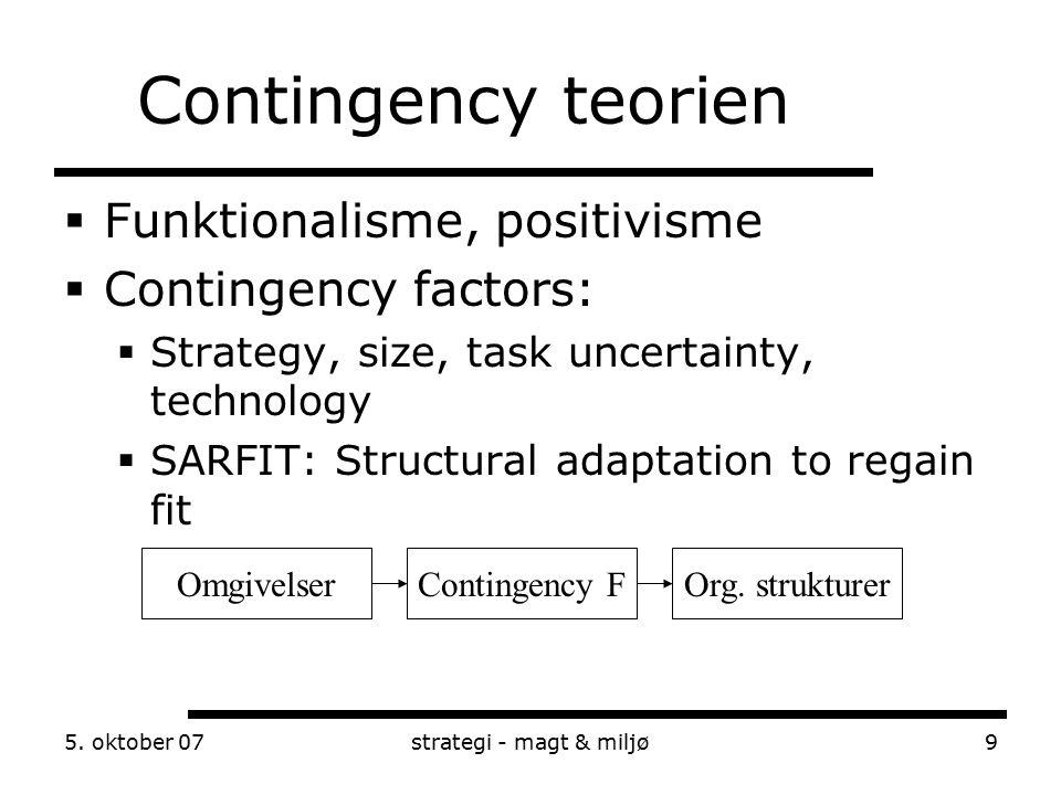 mintzberg contingency This research examined the contingency view of management using mintzberg's  role concept a modified activity sampling methodology was used self-reported.