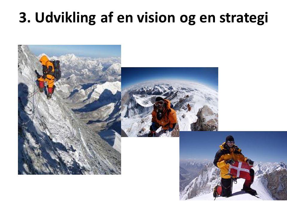 3. Udvikling af en vision og en strategi