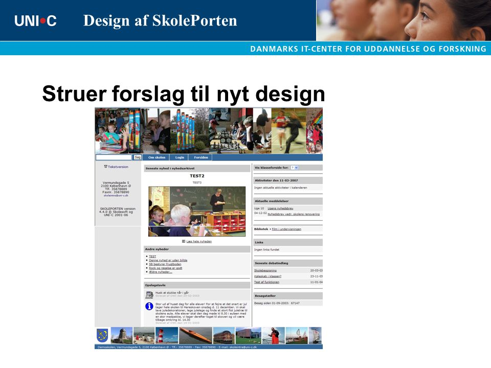 Struer forslag til nyt design
