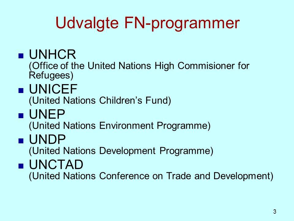 Udvalgte organisationer under ECOSOC