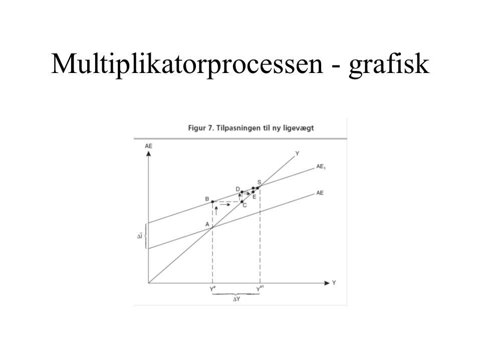 Multiplikatorprocessen - grafisk
