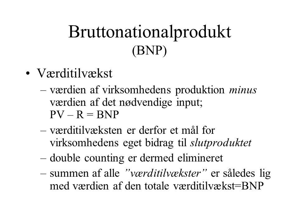 Bruttonationalprodukt (BNP)