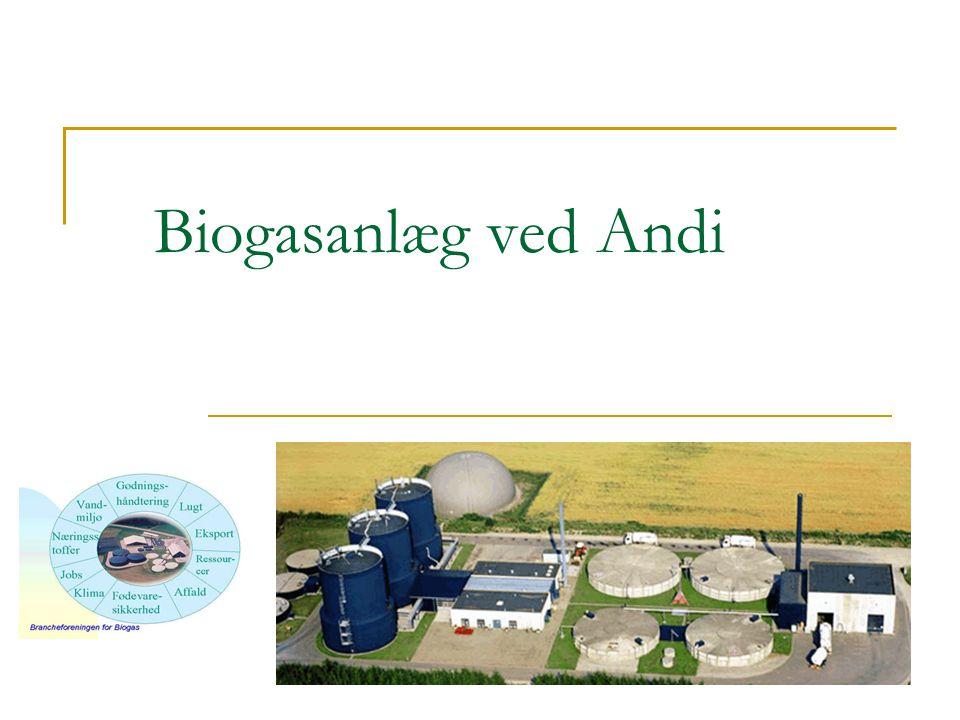 Biogasanlæg ved Andi