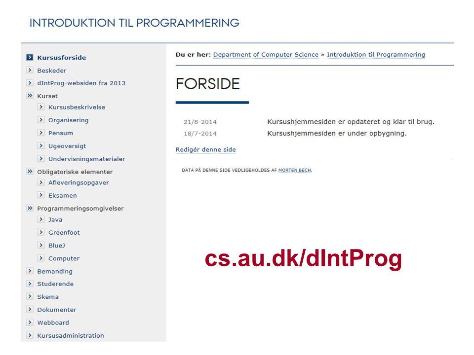 cs.au.dk/dIntProg dIntProg, E14
