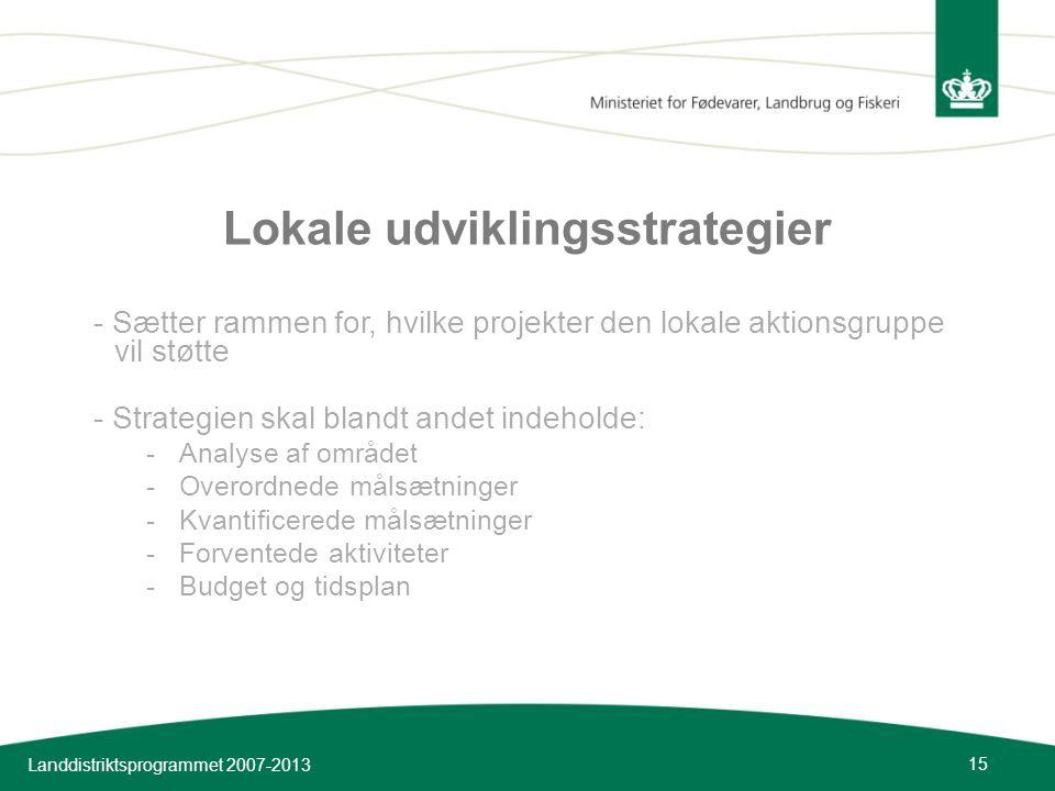 Lokale udviklingsstrategier