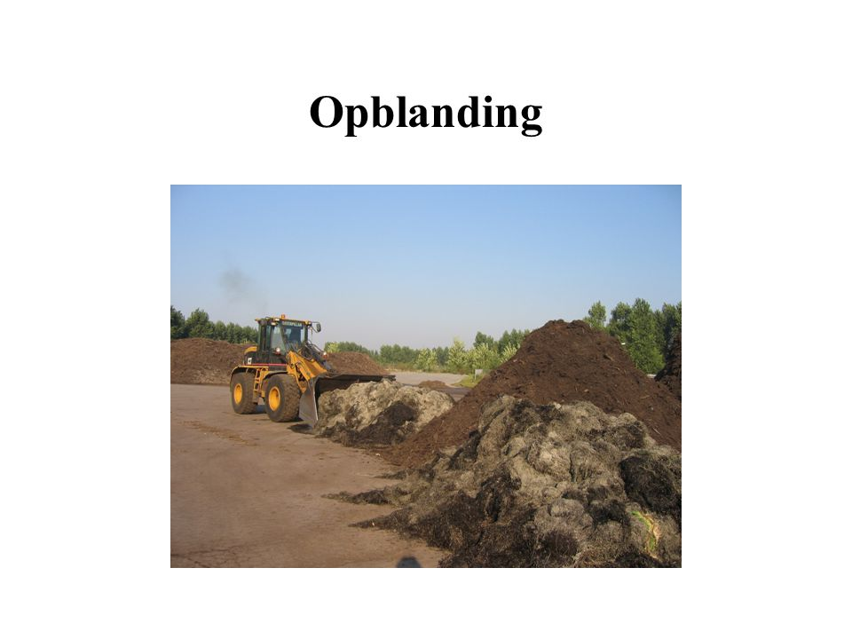 Opblanding