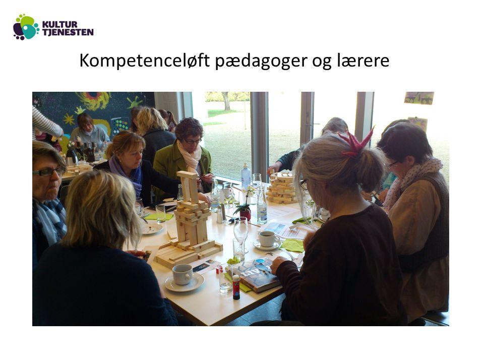 Kompetenceløft pædagoger og lærere