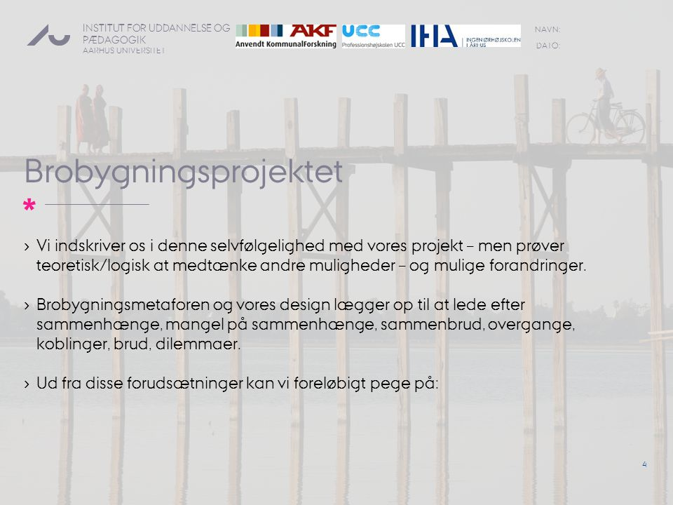 Brobygningsprojektet