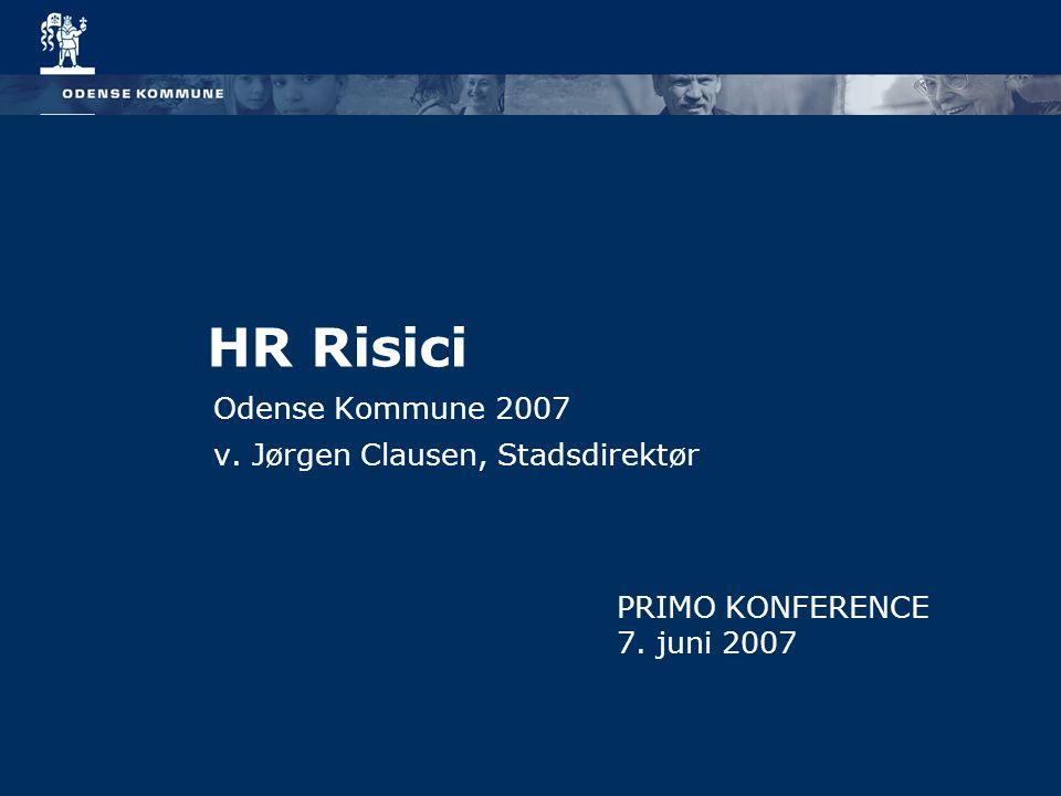 Odense Kommune 2007 v. Jørgen Clausen, Stadsdirektør