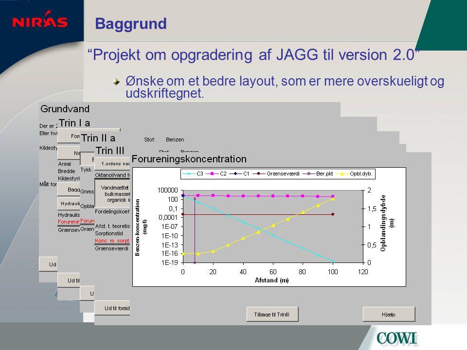 Projekt om opgradering af JAGG til version 2.0