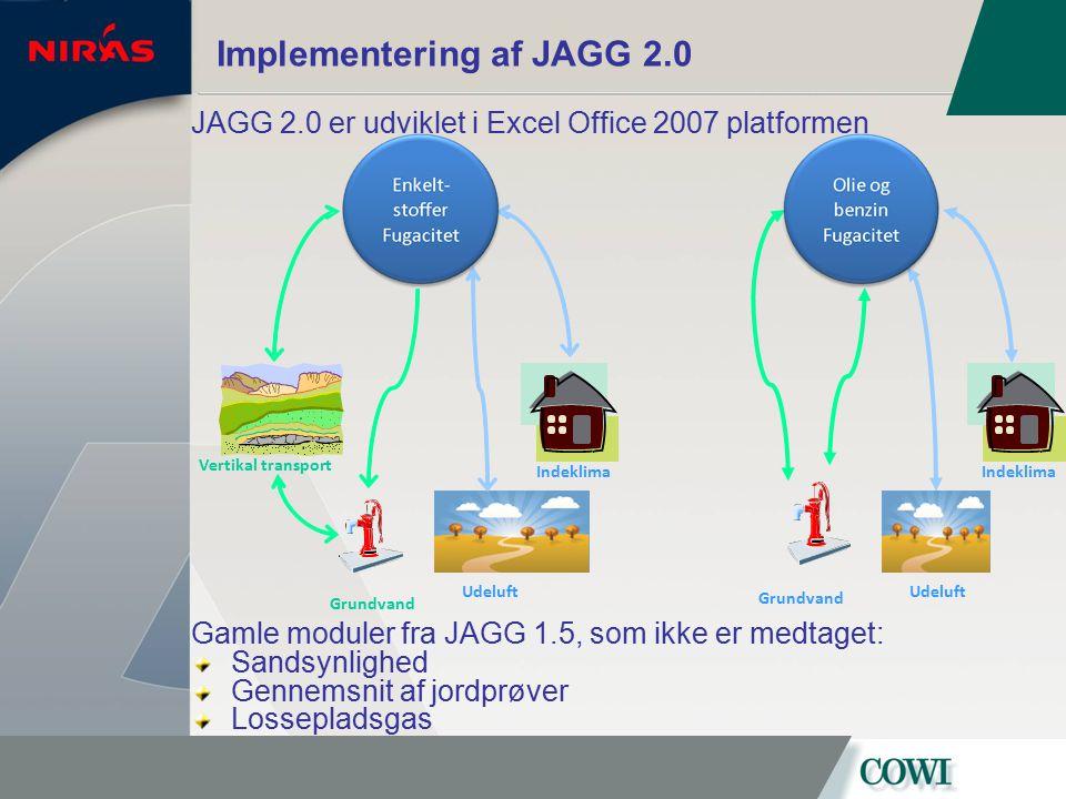 Implementering af JAGG 2.0