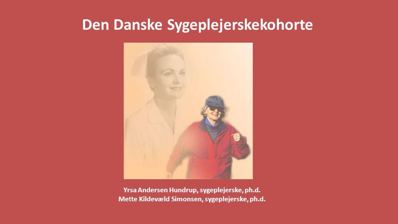 Den Danske Sygeplejerskekohorte