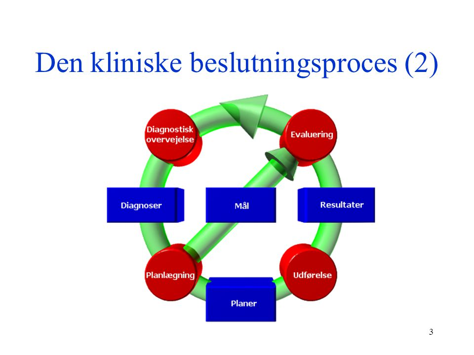 Den kliniske beslutningsproces (2)