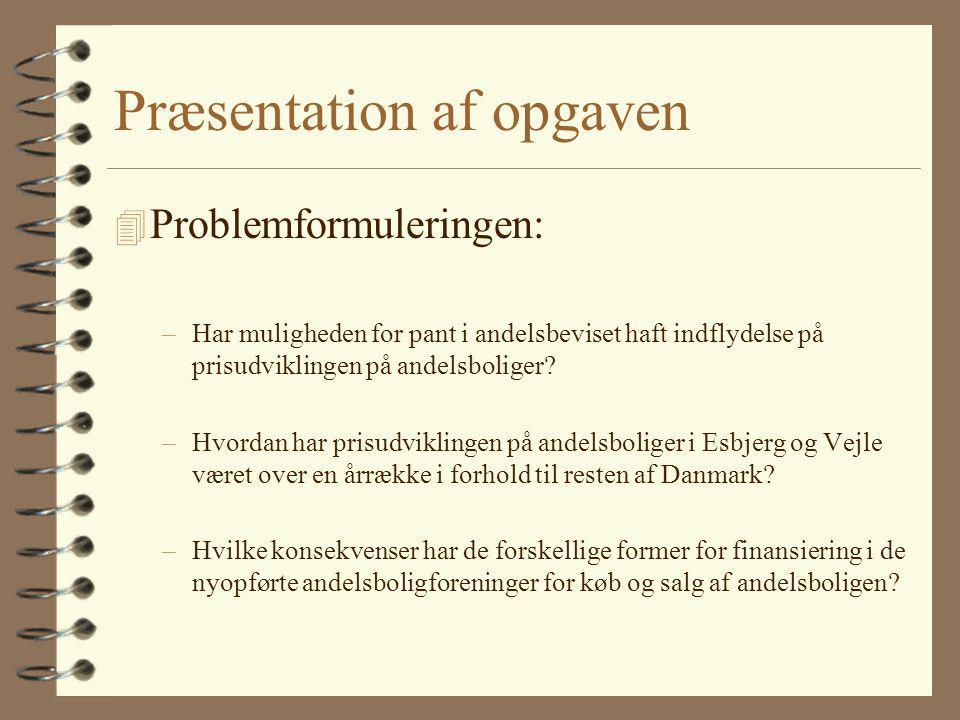 Præsentation af opgaven
