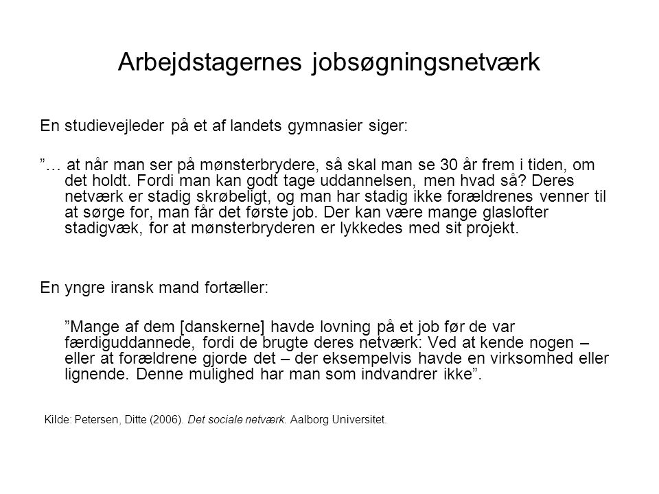 Arbejdstagernes jobsøgningsnetværk