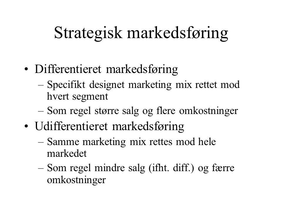 Strategisk markedsføring
