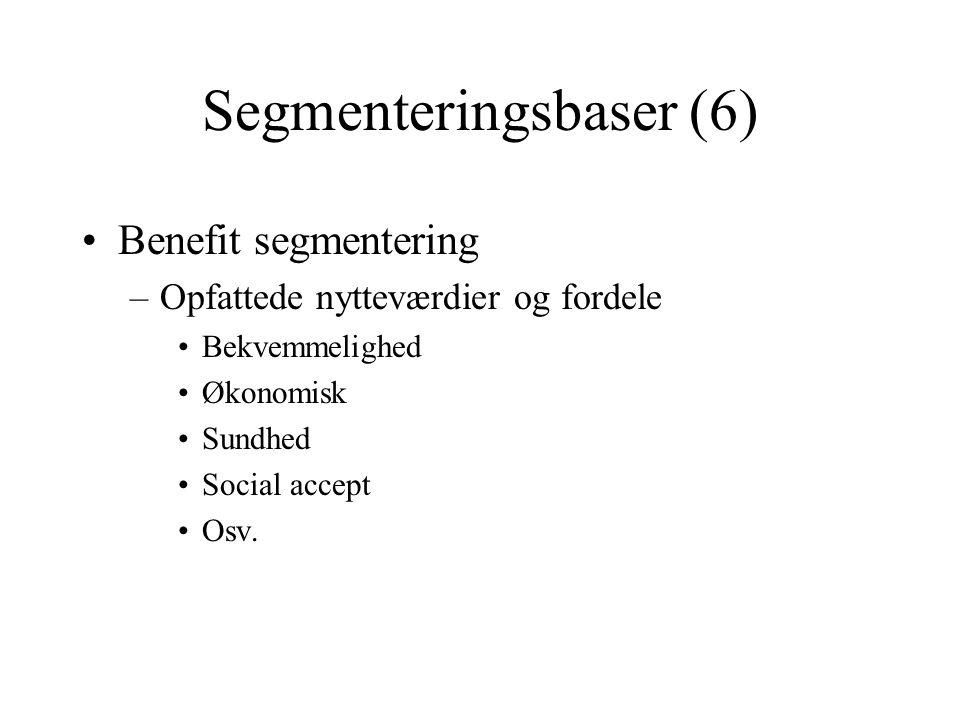 Segmenteringsbaser (6)