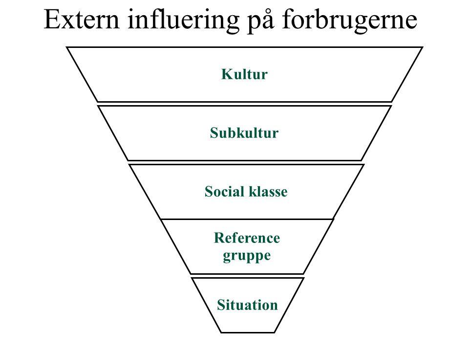 Extern influering på forbrugerne