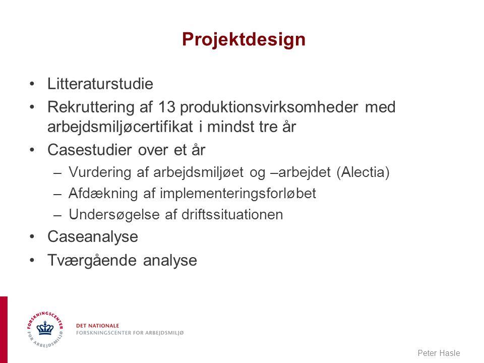 Projektdesign Litteraturstudie