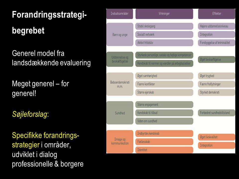 Forandringsstrategi-begrebet