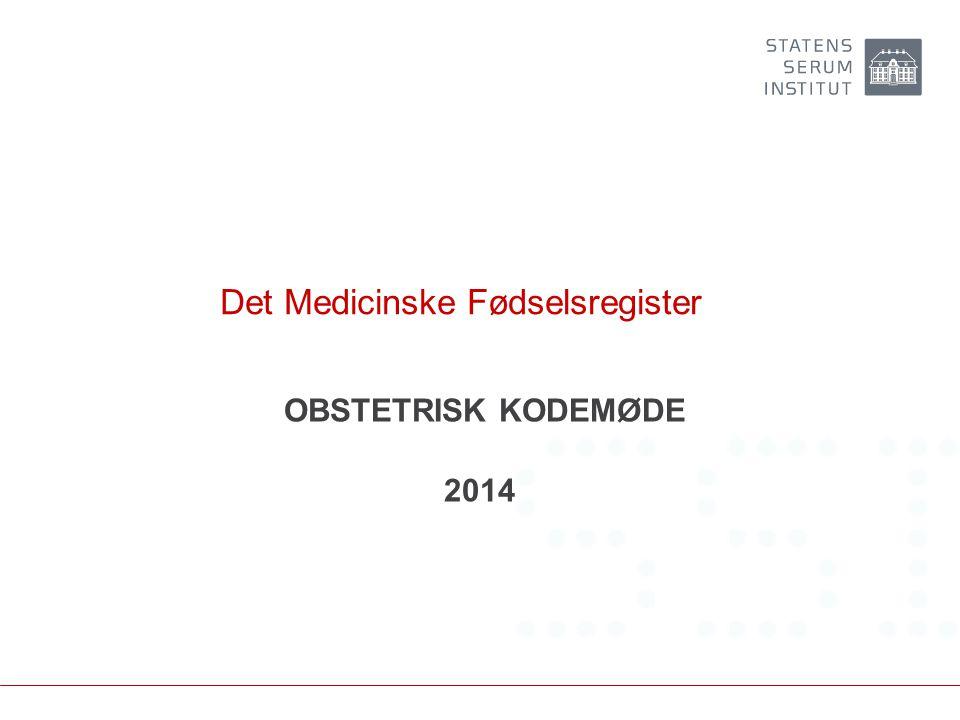 Det Medicinske Fødselsregister