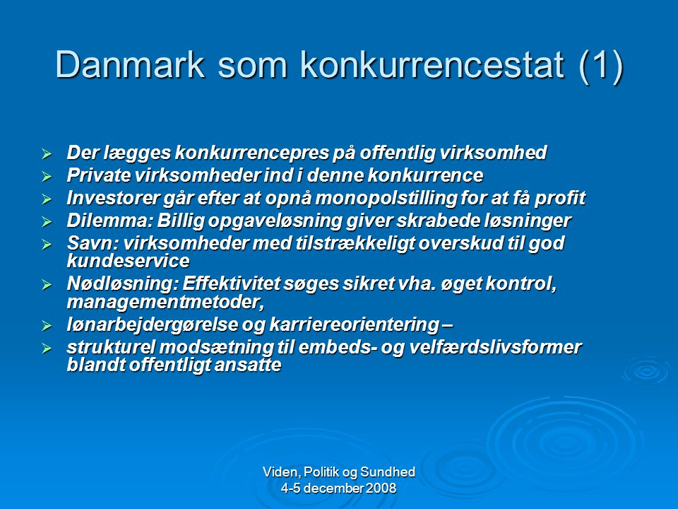 Danmark som konkurrencestat (1)