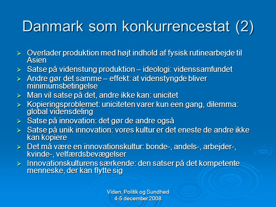 Danmark som konkurrencestat (2)