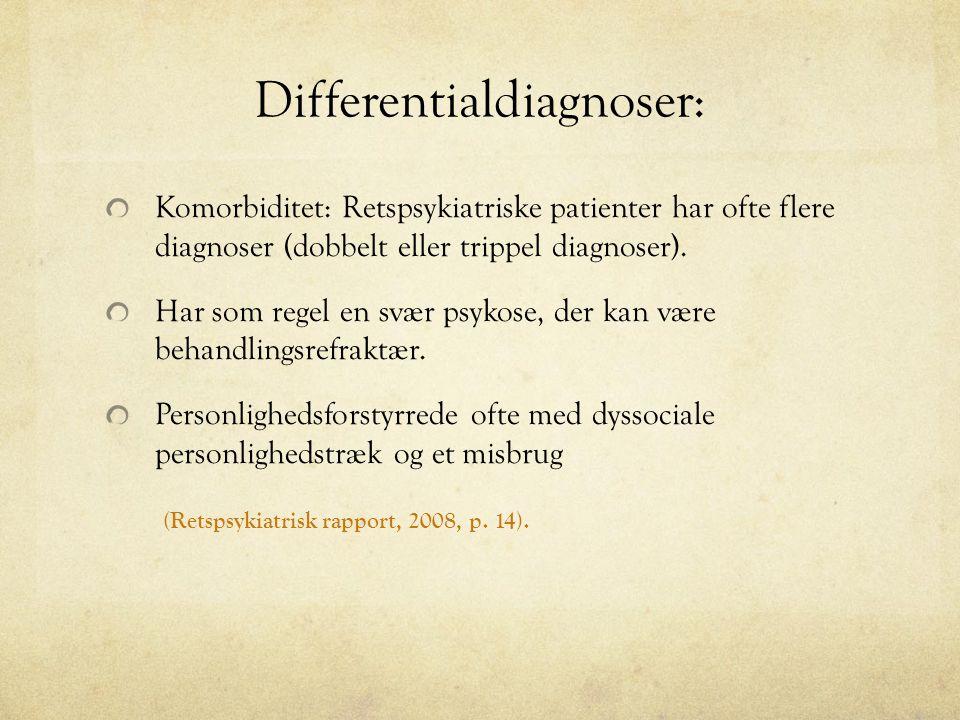 Differentialdiagnoser: