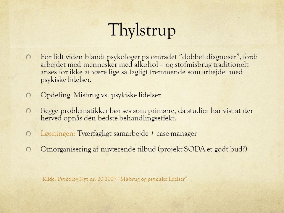 Thylstrup