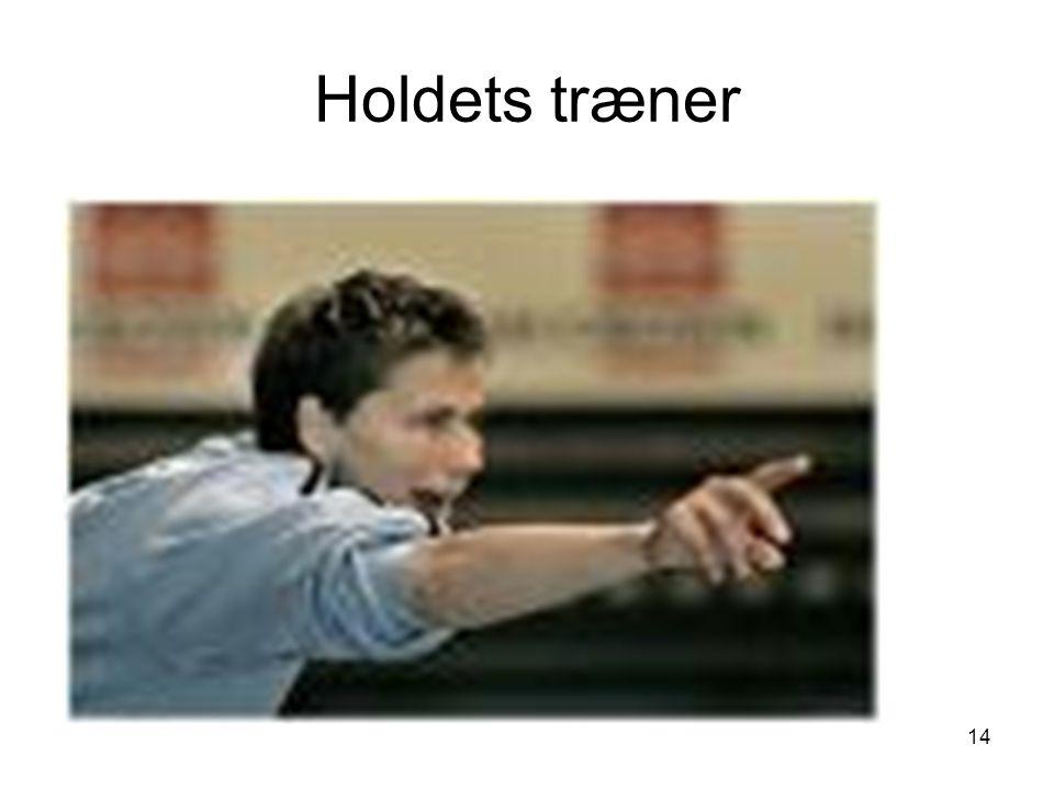 Holdets træner