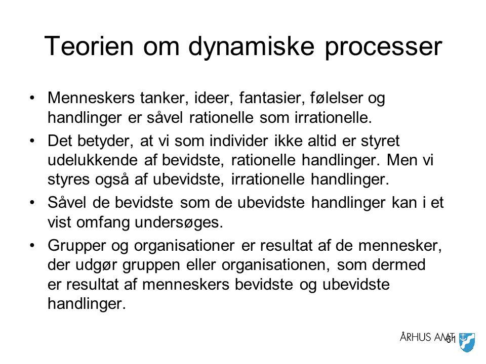 Teorien om dynamiske processer